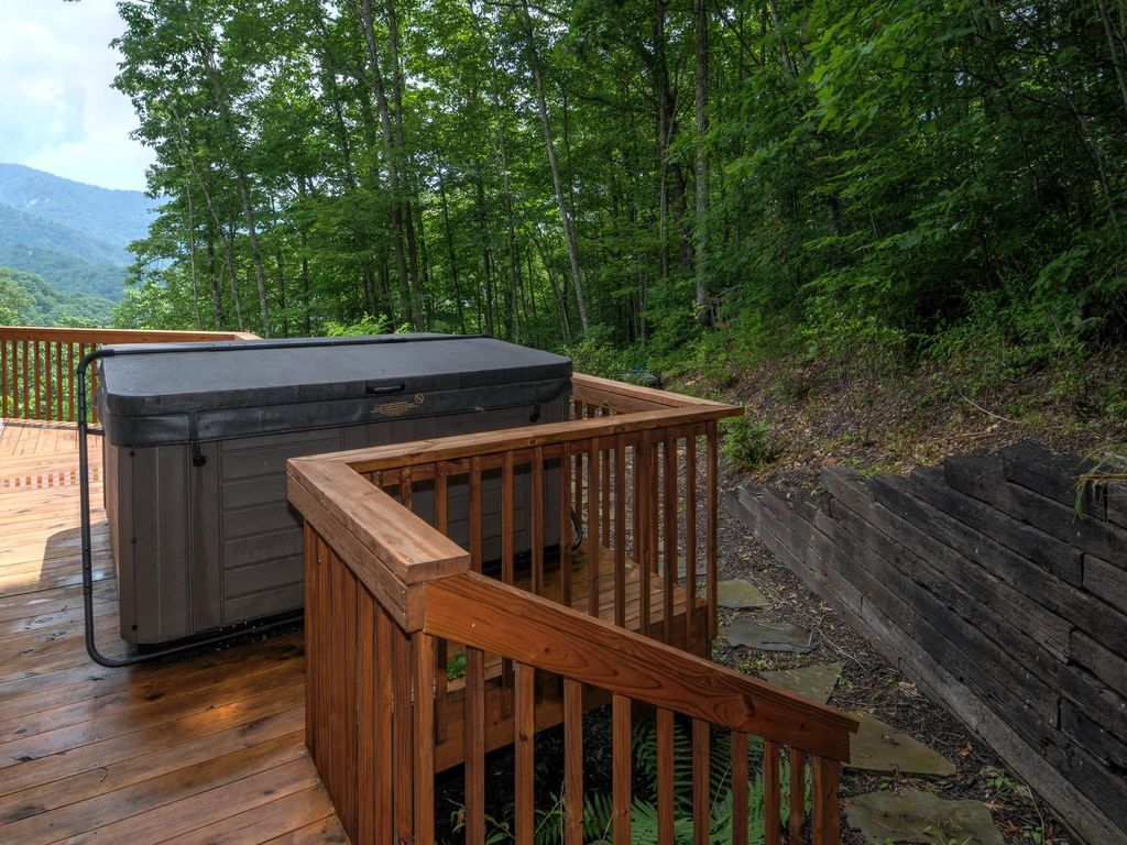 premier maggie cabin motorcycle nc smoky rentals vacation north carolina great rental valley cabins mountains
