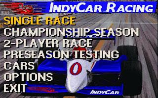 Videojuego IndyCar Racing