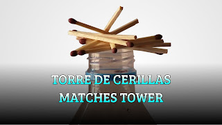 Torre de cerillas, FUN GAME, Matches tower