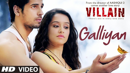 Galliyan - Ek Villain (2014) Full Music Video Song Free Download And Watch Online at worldfree4u.com