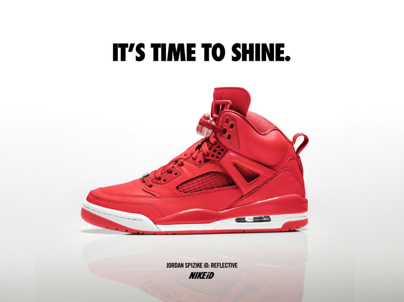 be05eead97ccd Now Available  NIKEiD Jordan Spizike Reflective Options