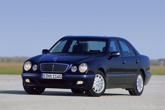 Mercedes-Benz W210. Blog Motodrama.