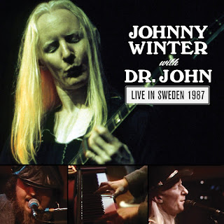 Johnny Winter & Dr. John's Live In Sweden 1987