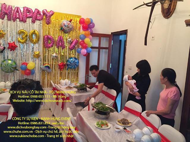 Đặt Tiệc Sinh Nhật Tại Nhà