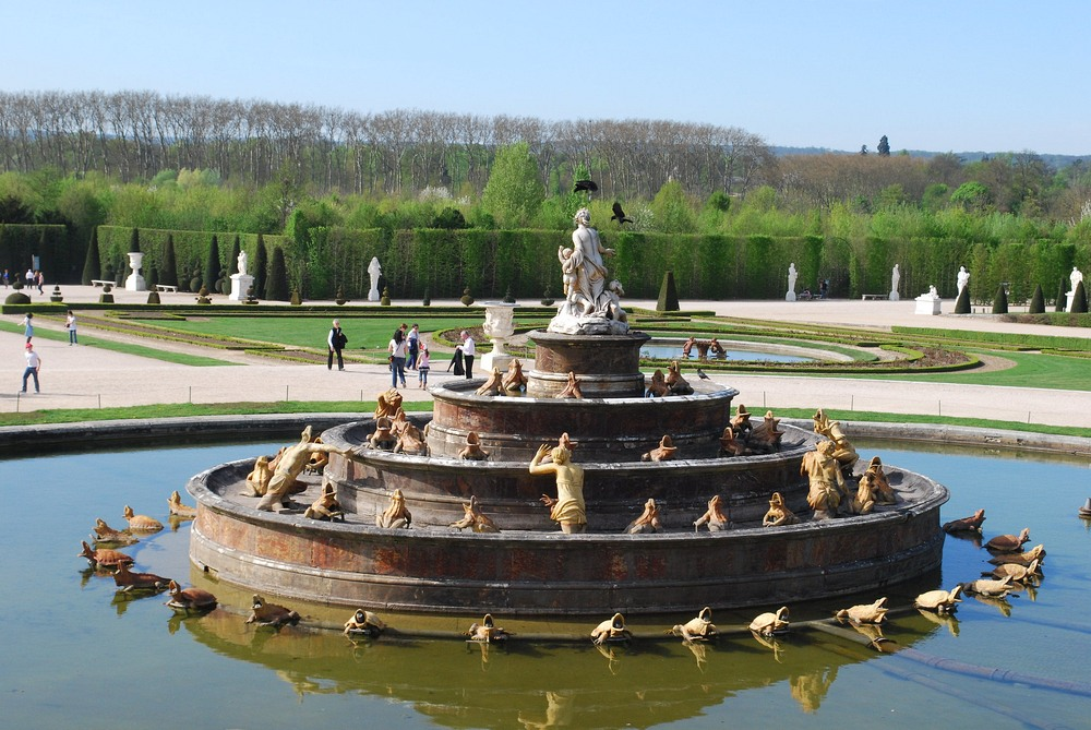 The Latona Fountain.
