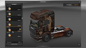 Vikings pack for Scania R