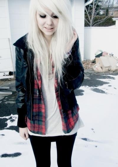 Emo Girl - Fashion Style-8386