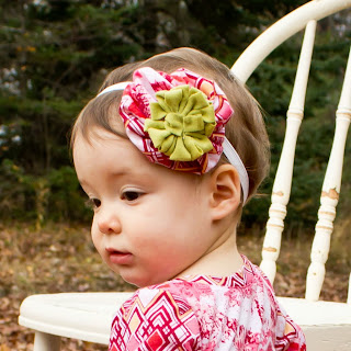 flower headband pattern