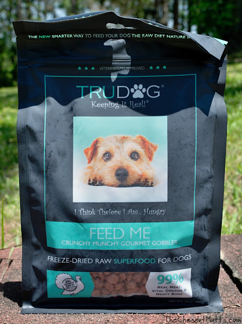 TruDog Crunchy Munchy Gourmet Gobbler Turkey freeze-dried raw dog food