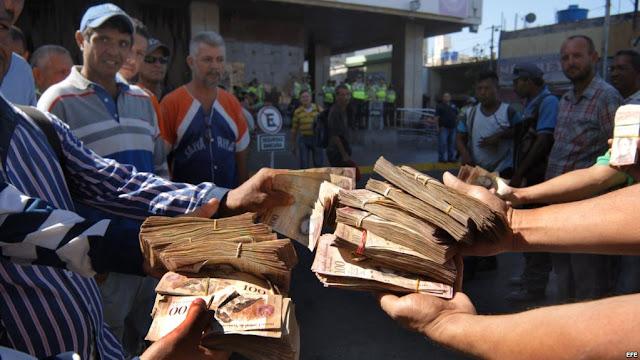 Bancos se quedaron sin billetes nuevamente