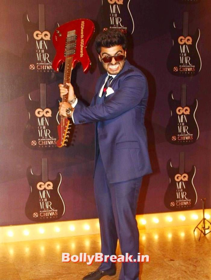 Arjun Kapoor, Red Carpet Pics of GQ Men Of The Year Awards 2014
