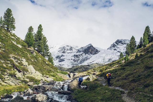 Plattenspitze – Punta delle Laste 3.422m  Bergtour-Martelltal  Wanderung-Martell  Wandern-Südtirol 01