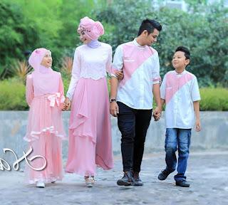 model baju keluarga untuk pesta
