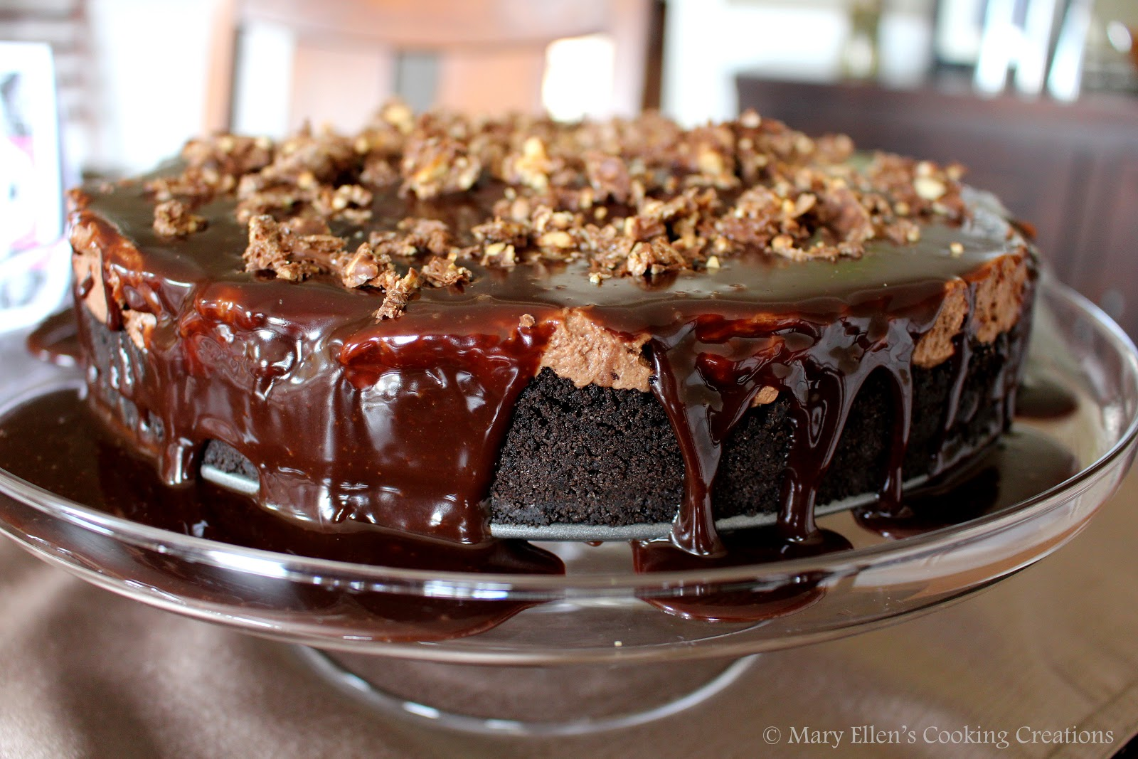 mary ellen 39 s cooking creations no bake nutella cheesecake. Black Bedroom Furniture Sets. Home Design Ideas