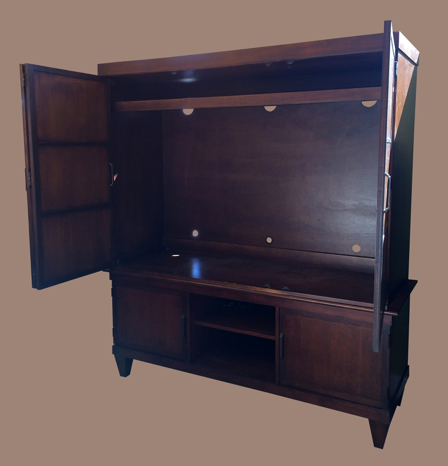 Uhuru Furniture & Collectibles: Large 2 Piece Flat Screen ...