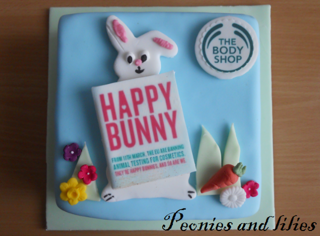 The body shop, Cruelty free, The body shop bunny cake