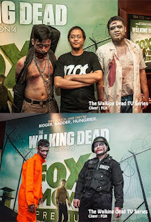 the walking dead promotion