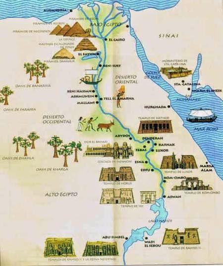 Egipto Antiguo Historia Viajes El Rio Nilo Su Dios Protector