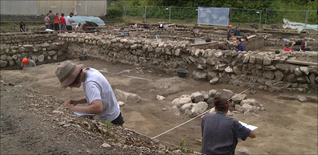 Roman district of Lausanne emerges from the earth