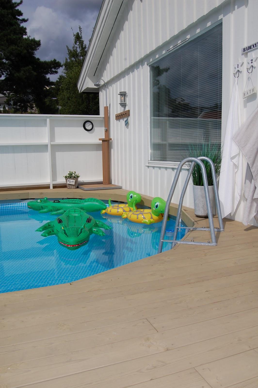 varmetrekk til basseng