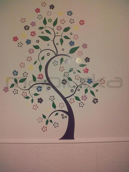 Mapiurka adhesivos decorativos ba arbol en consultorio for Adhesivos de pared infantiles