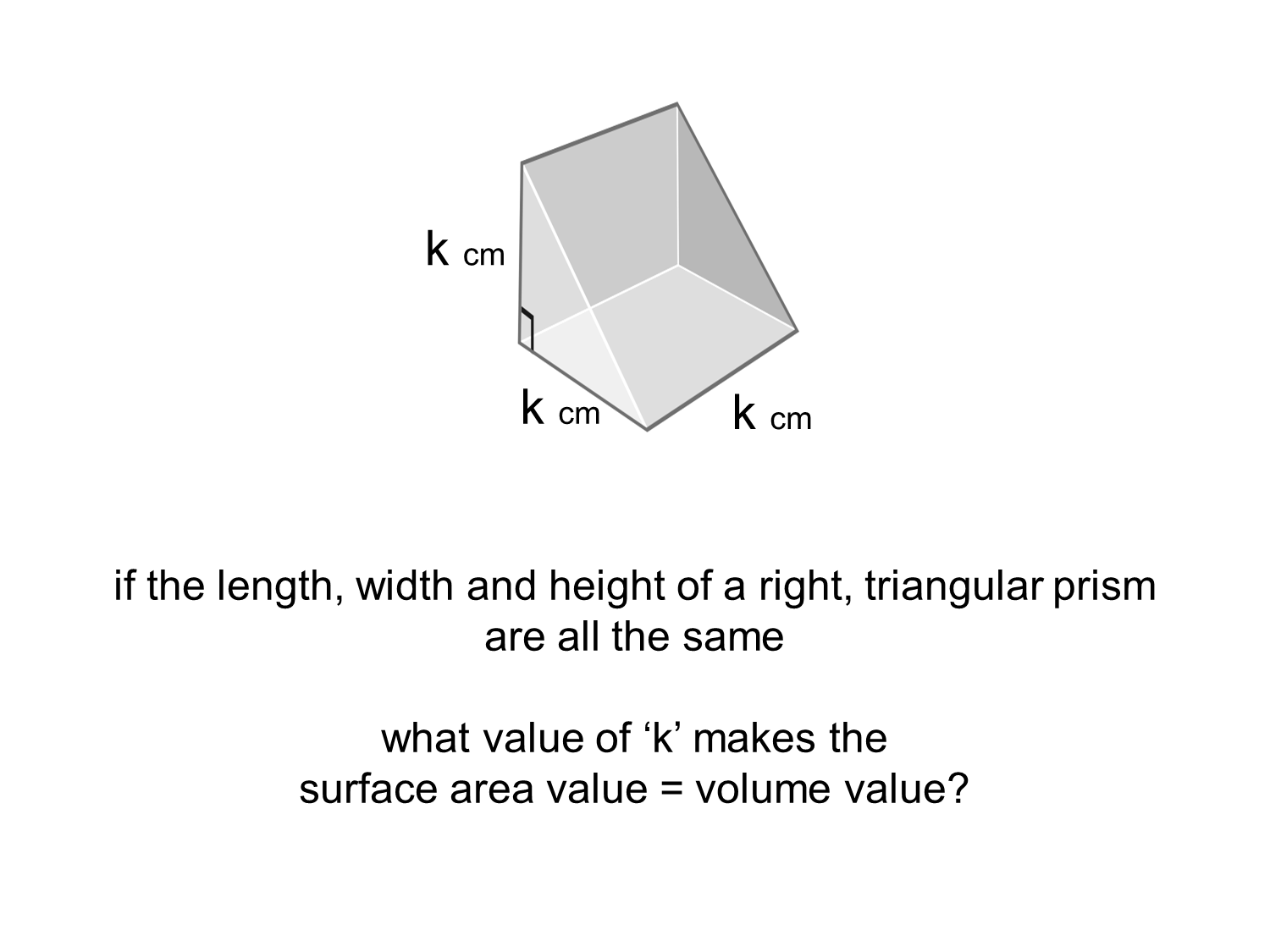 Median Don Steward Mathematics Teaching Triangular Prisms