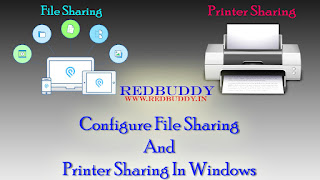 Configure File Sharing And Printer Sharing In Windows