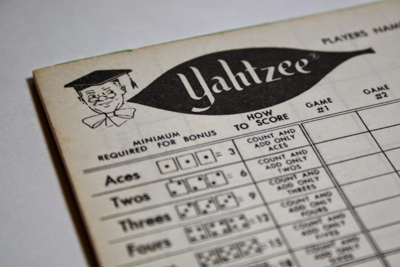 Breathtaking Yahtzee Score Sheet Printable