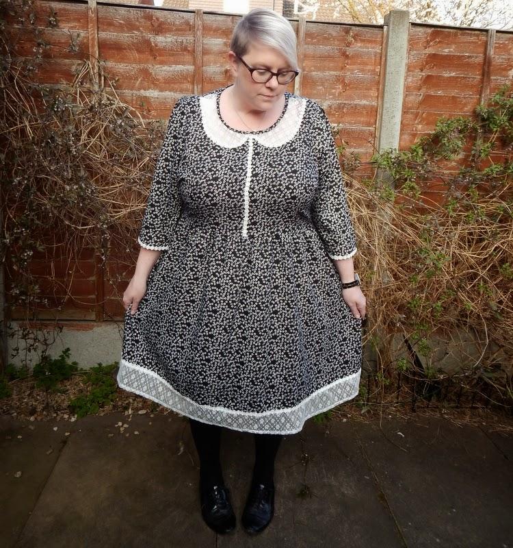 Modcloth Stylish Surprise Natty Nikki Plus Size Blogger