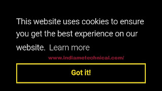 Blogger में Cookies Notification Bar/Pop-up कैसे लगाए।