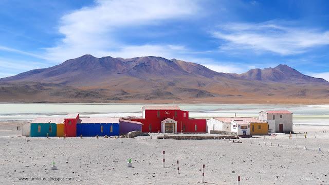 Hotel at Laguna Hedionda, Uyuni, Bolivia