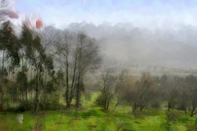 foto pinturas fotografía, imágenes, arte digital, de paisajes, olas y temporales, abstracto, abstracta,