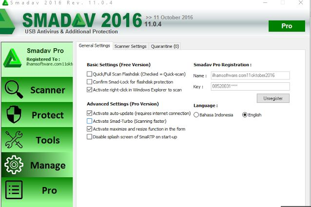 Download Smadav 2016 Pro Rev 11.0.4 Full Free