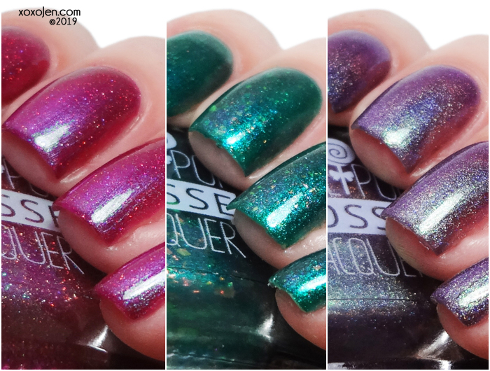 xoxoJen's swatch of Lollipop Posse The Indie Shop LEs