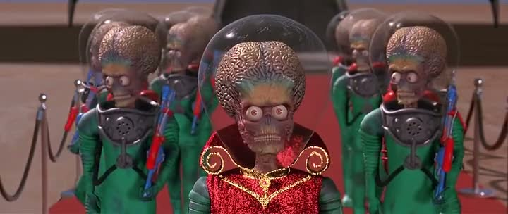 Mars Attacks (1996) Full Hindi Dubbed Movie 300MB Compressed PC Movie Free Download