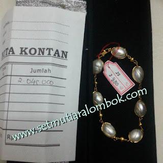 Perhiasan Mutiara Lombok Asli