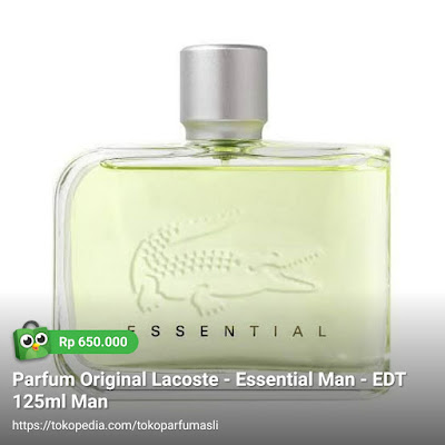 lacoste essential edt 125ml man