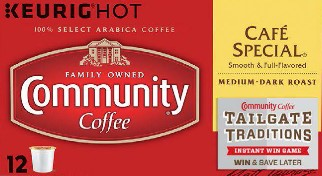 Community Coffee Company has joined Southwest Airlines for their annual Instant Win Game where you will be able to enter daily to win a trip to the Super Bowl or one of over 500 prizes!