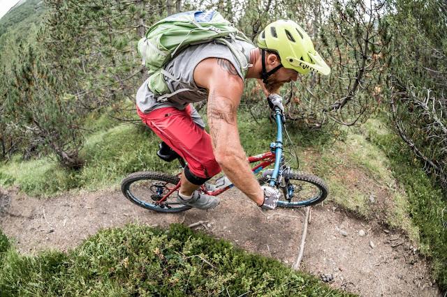 Abfahrt Mountainbike Valdidentro Bormio