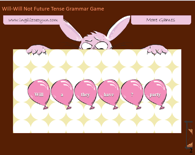http://www.englishlearninggames.com/play/will-will-not-grammar-game-future-tense.html