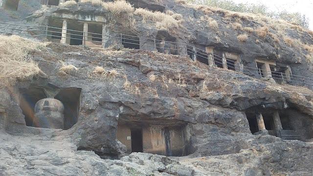 Gandhar Pale Buddhist Caves Mahad