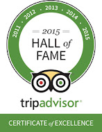 BALI EMERALD VILLAS EARNS  TRIPADVISOR CERTIFICATE OF EXCELLENCE AWARD - PAST SIX YEARS