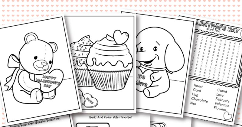 Nothing Warms A Cold Winter Day Like Thoughts Of Hearts Candy And All Things Valentines Weve Had So Much Fun With Our Coloring Pages