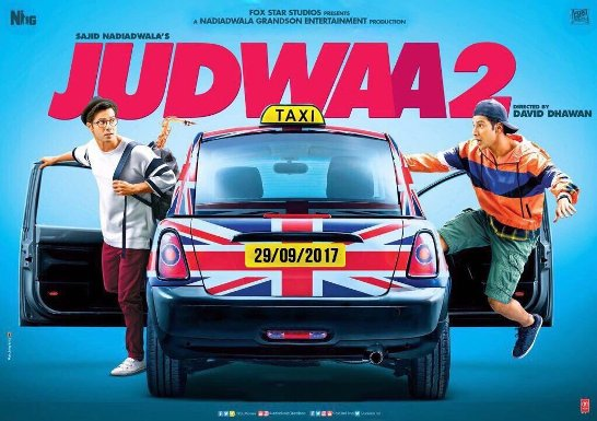 full cast and crew of bollywood movie Judwaa 2 2017 wiki, Varun Dhawan, Jacqueline Fernandez, Taapsee Pannu story, release date, Actress name poster, trailer, Photos, Wallapper