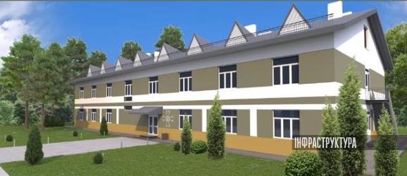 Проект будівництва гуртожитків