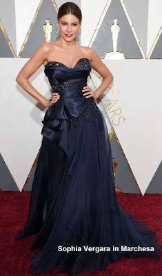 Sophia%2BVergara%2Bem%2Bmodelo%2BMarchesa - Look Óscares 2016