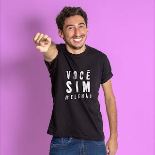 Camiseta Você sim, Ele Não