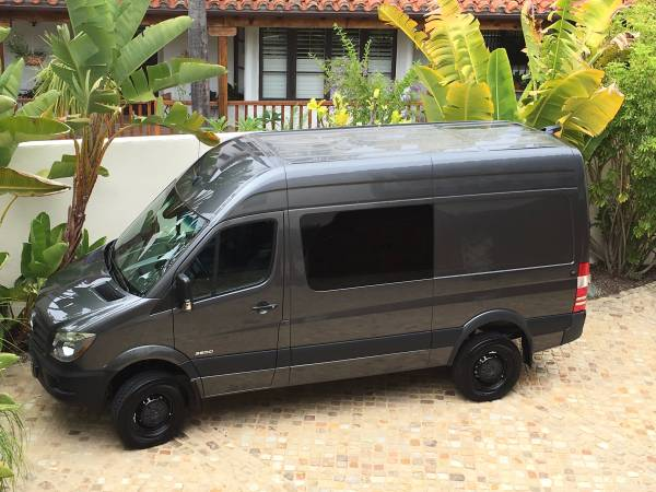 2016 mercedes sprinter 4wd van 4x4 cars. Black Bedroom Furniture Sets. Home Design Ideas