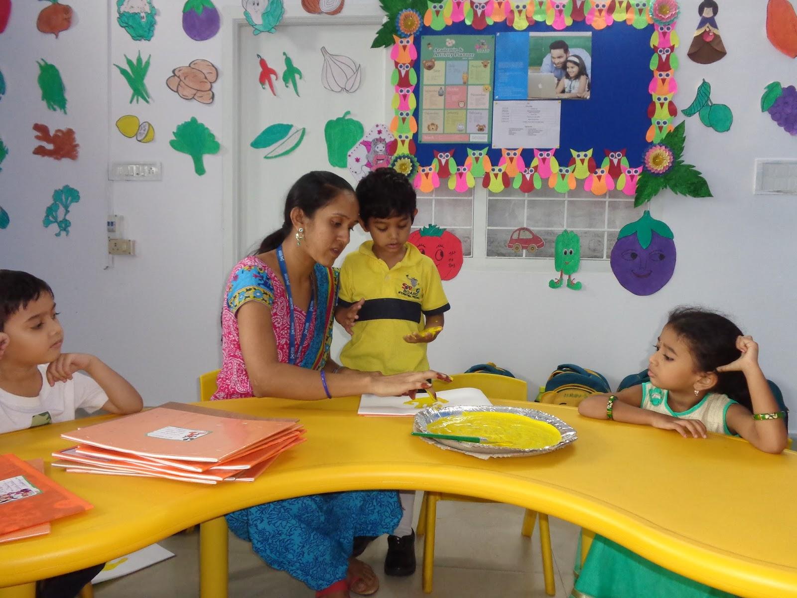 Worksheets For Pre Primary : Springboard international preschool friday creative