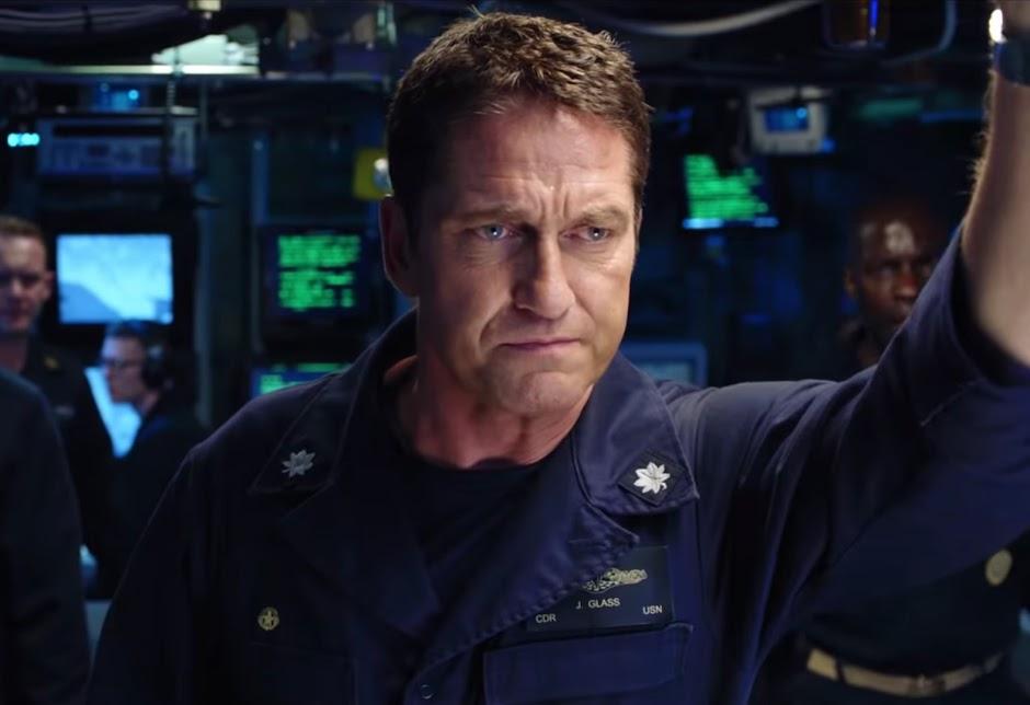 Fúria em Alto Mar | Gerard Butler precisa impedir a 3ª Guerra Mundial no trailer da ação